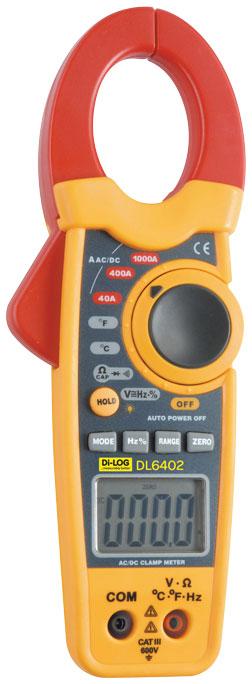 Amp Meter Clamp On : Dl amp ac dc digital clamp meter solar pv test