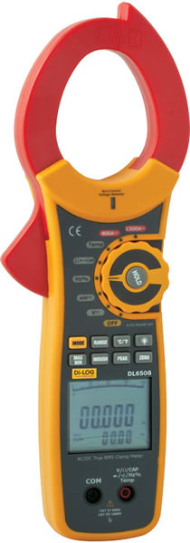 DL6508 1500A AC/DC True RMS Clamp Meter with Inrush Current Function